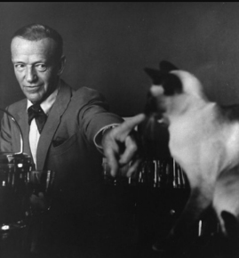 astaire and his siamese